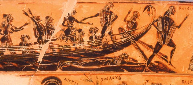IONIAN UNIVERSITY - Seafarers in Ancient Greece - Pirates, Sailors ...