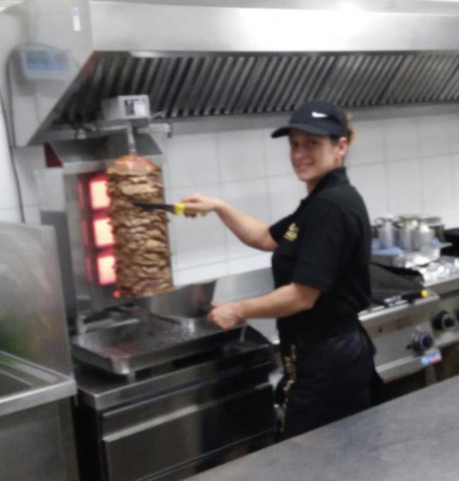 Gyros - griechisches Restaurant - Lokal Ionion in Viernheim