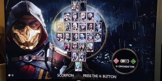 Mortal Kombat 11 Sudah Dikonfirmasi Dengan Layar Character Select