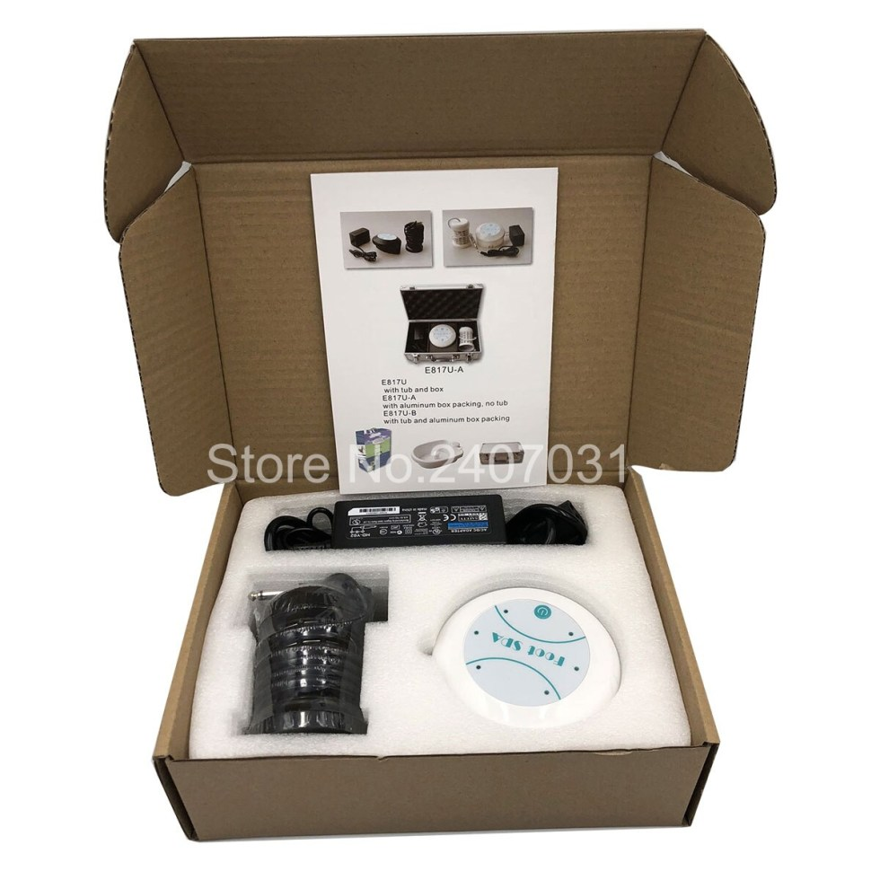 Foot Massage Detox Machine Foot Spa Ion Cleanse Foot Massage Ionic Aqua Cell Spa Machine Detox Foot Bath Arrays Aqua Spa