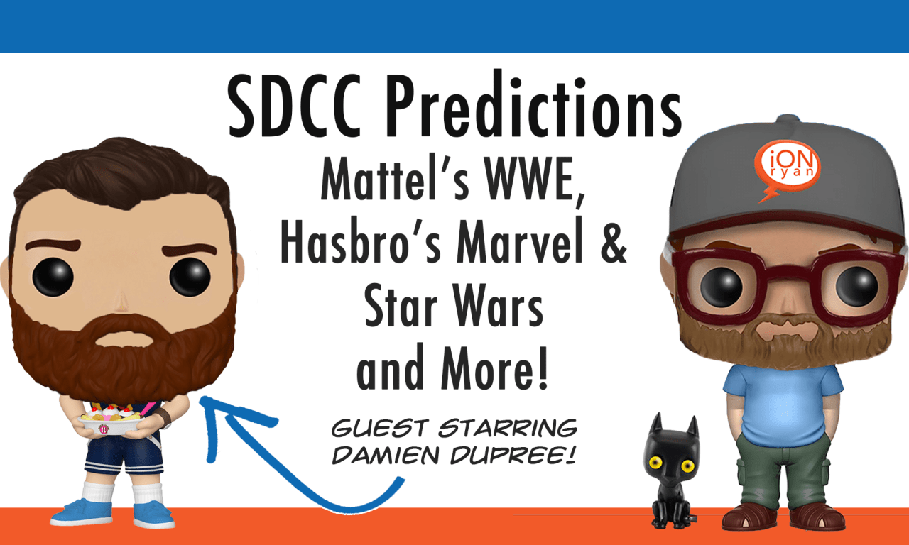 San Diego Comic Con Toy Predictions 2019