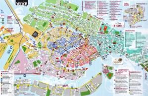 harta venetia - venice map