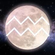 luna in acquario