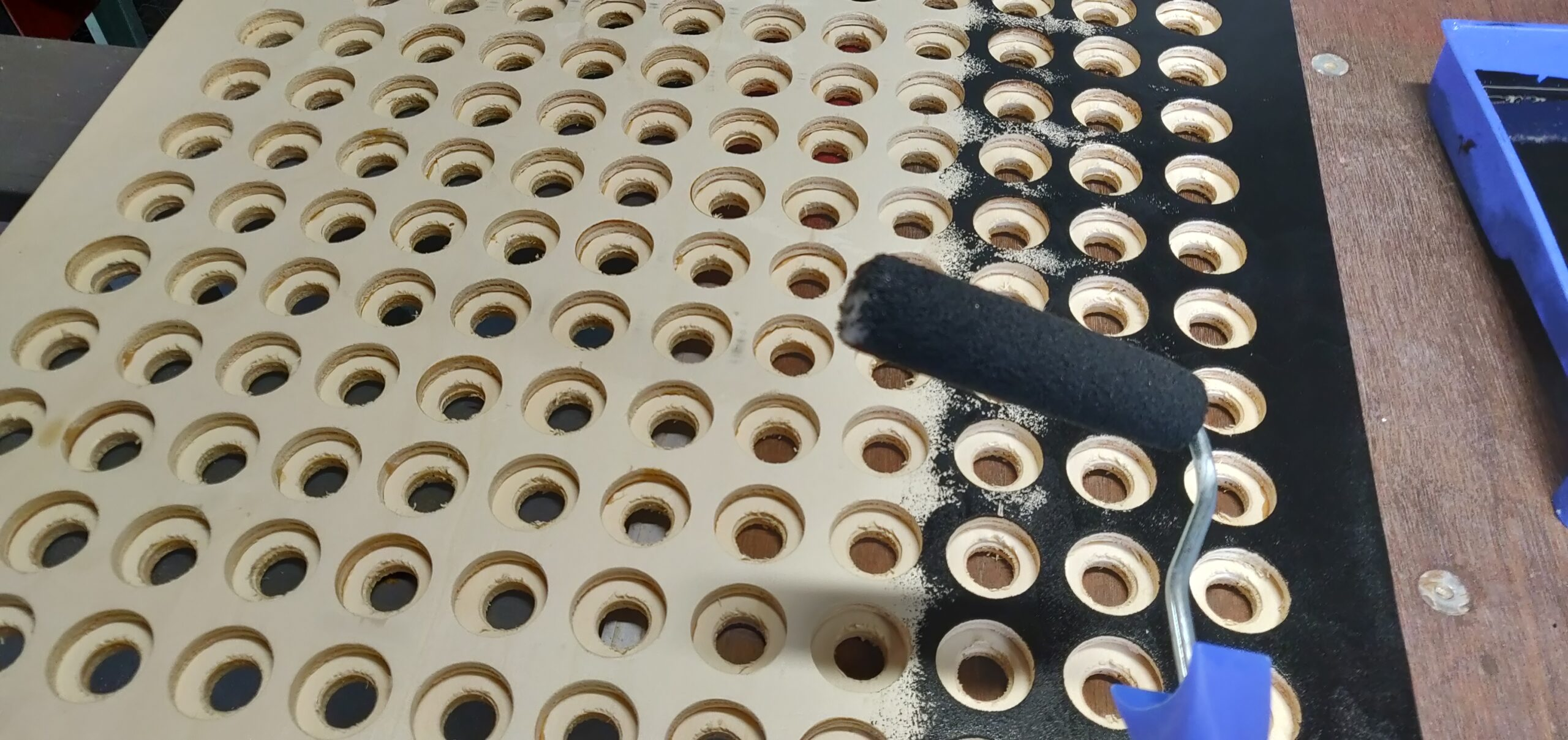 Fabrication de la matrice LED Ping-pong