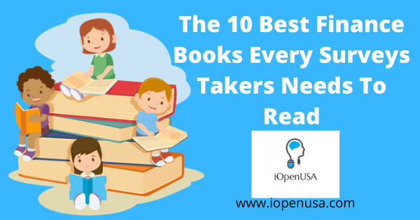 The 10 Best Finance Books Every Surveys Takers Needs To Read