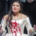 Netrebko como Lucia