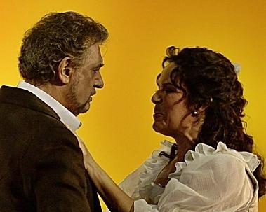 Plácido Domingo y Nancy Herrera en Luisa Fernanda