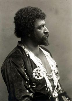 Francesco Tamagno como Otello