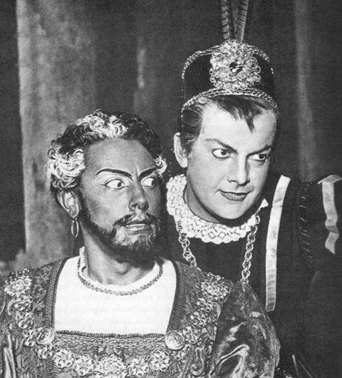 Mario del Monaco y Tito Gobbi como Otello y Jago