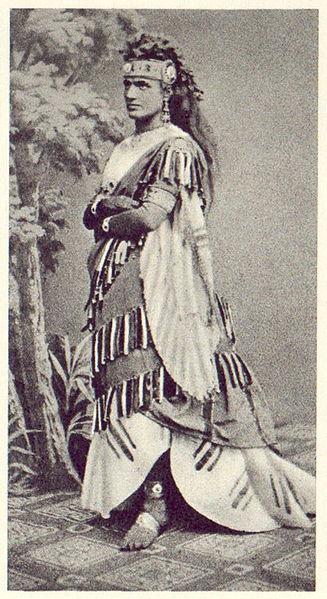 Teresa Stolz como Aida en 1872