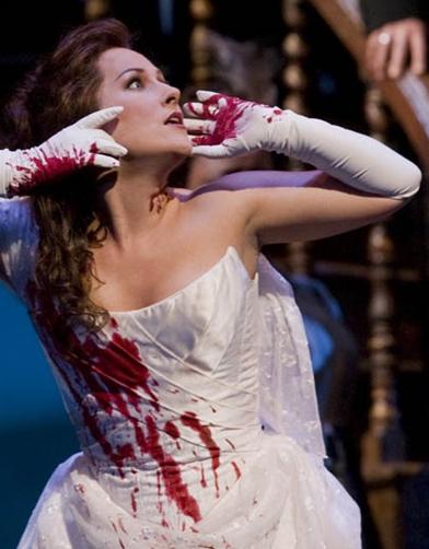 Diana Damrau como Lucia di Lammermoor