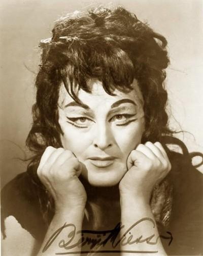 Birgit Nilsson como Elektra