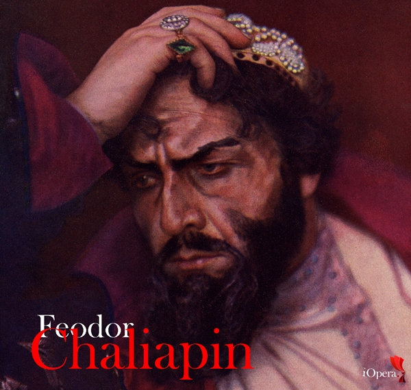 Feodor Chaliapin como Boris Godunov iopera