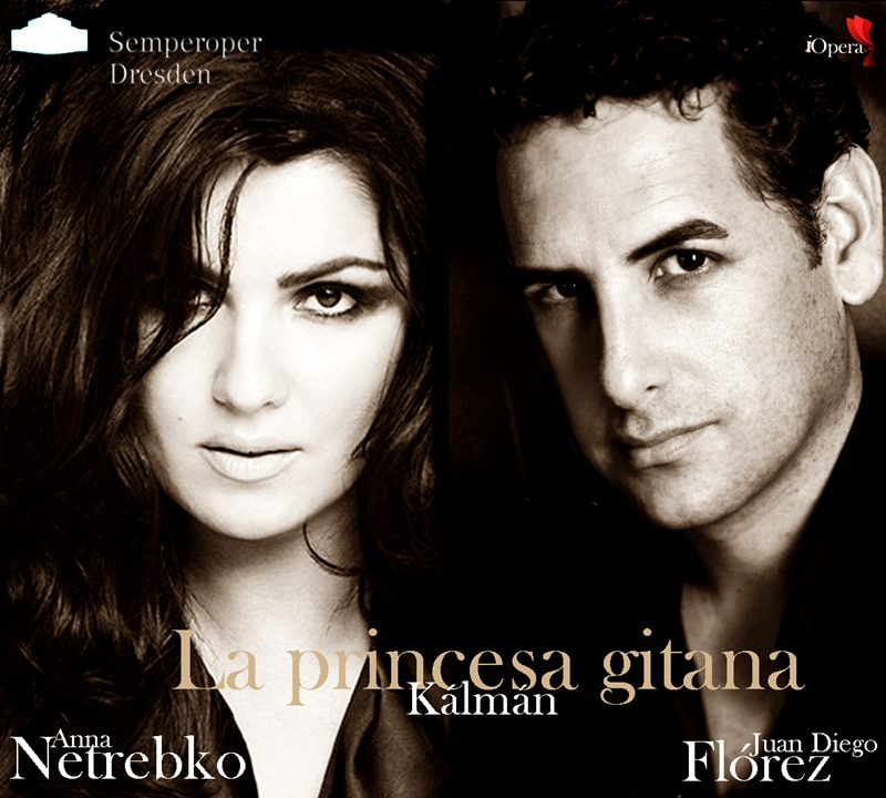 Anna Netrebko y Juan diego Flórez Semperoper