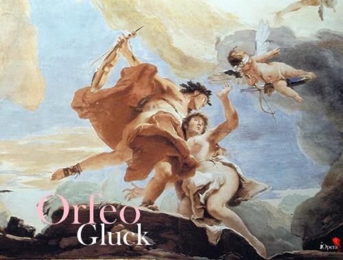 Venecia Palazzo Sandi. Detalle .Orfeo rescatando a Euridix del infierno Tiepolo
