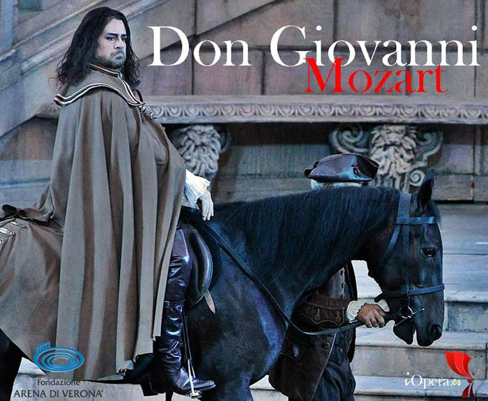 Don Giovanni arena di Verona 2015 W. A. Mozart carlos Alvarez