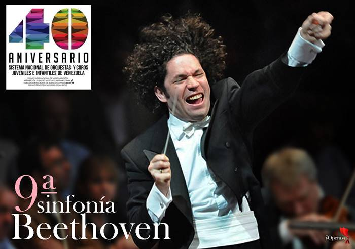 Dudamel berkeley 9ª Beethoven sinfonía el sistema