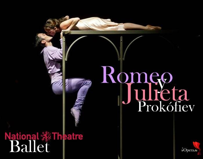 Francesco Scarpato Romeo Andrea Kramešová Julieta Ballet prokofiev