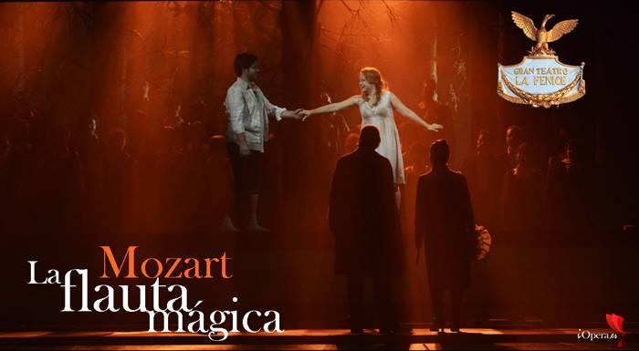 La flauta mágica de W.A. Mozart en el Teatro de la Fenice de Venecia 2015
