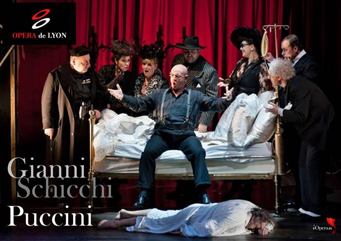 Gianni Schicchi Giacomo Puccini Lyon 2012