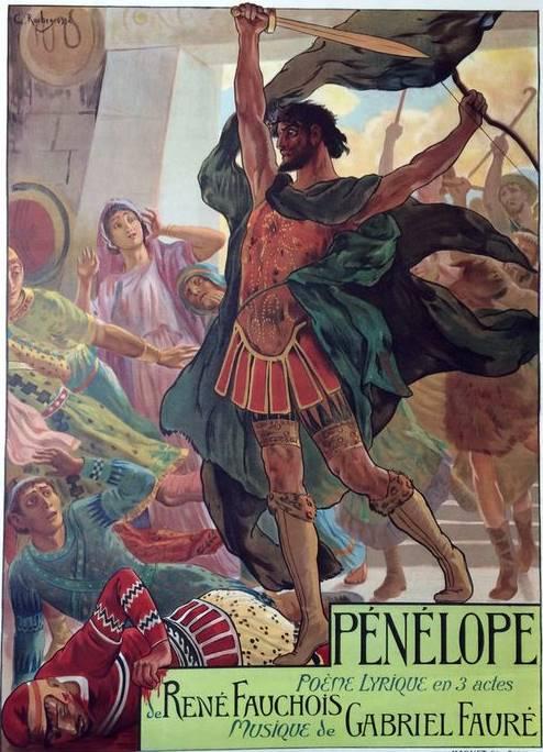 Cartel de Pénélope de Fauré