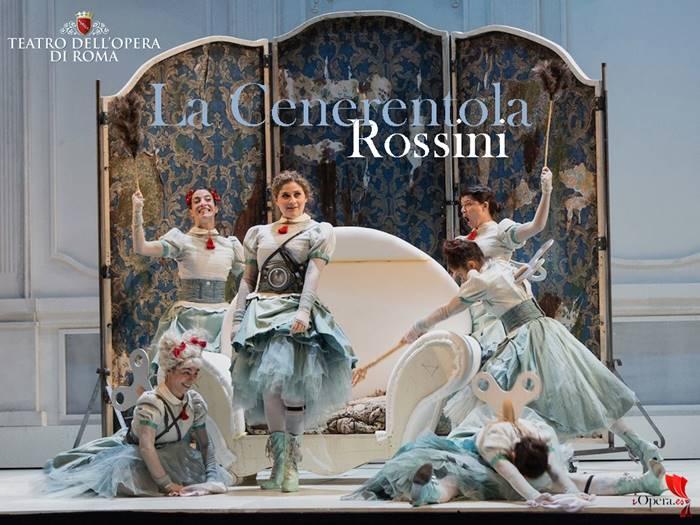 La Cenerentola en Roma Gioachino Rossini Teatro dell Opera di Roma bicentenario