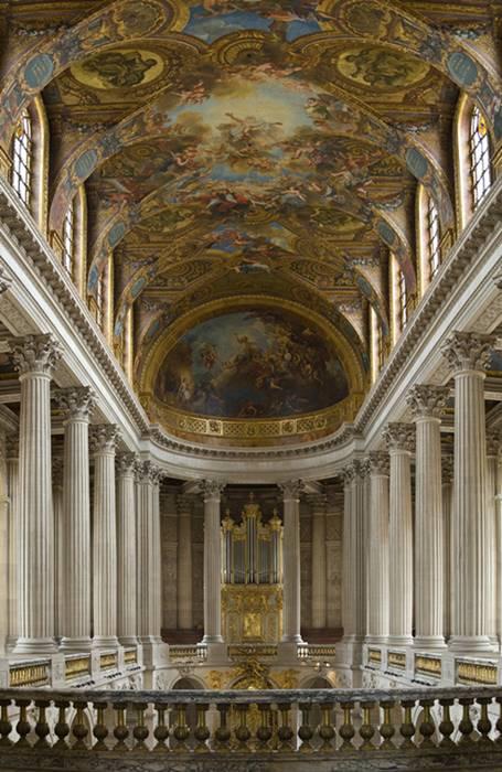 Capilla Real de Versalles Pasión según San Mateo Bach en Versalles