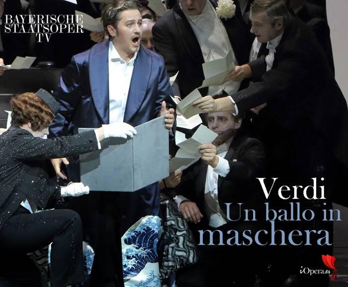 Un ballo in maschera desde Munich 2016