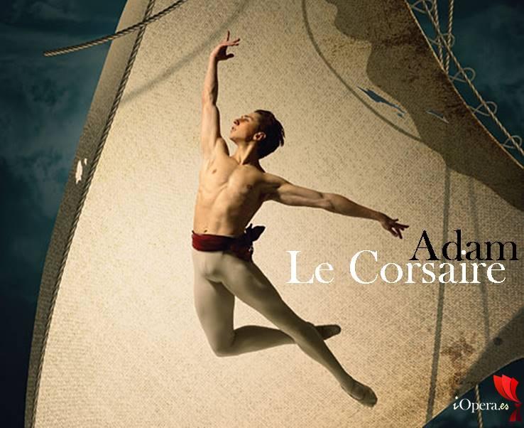 Le Corsaire ballet en Viena Adolphe adam iopera El Corsario