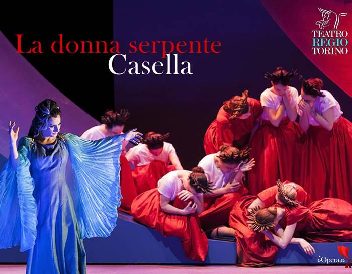 la donna serpente de Alfredo Casella en el teatro Regio de Turín