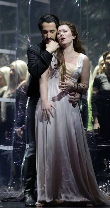 La favorita en Venecia en el Teatro la Fenice Gaetano donizetti Veronica Simeoni y Vito Priante