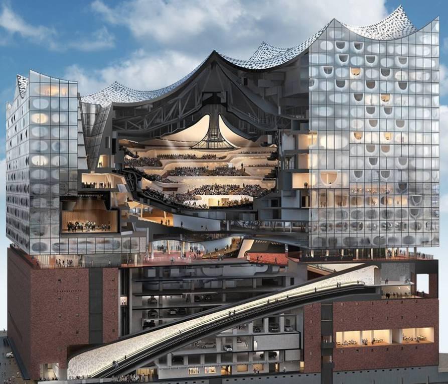 Concierto de inauguración de la Elbphilharmonie de Hamburgo elba
