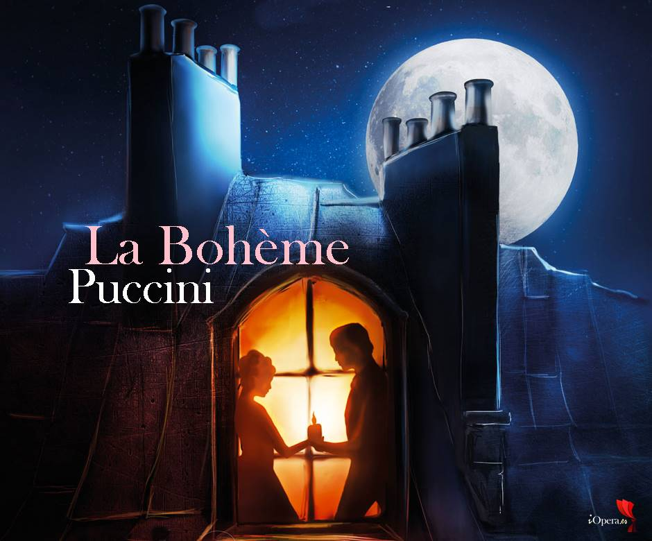 La Bohème de Puccini en el Festival de Opera al aire libre de París Francia