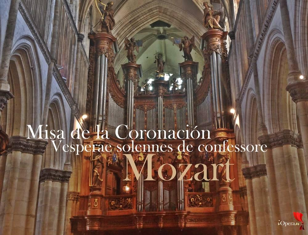 Cathédrale_Notre-Dame_de_Saint-Omer Misa de la Coronación y Vesperae solennes de confessore de Mozart
