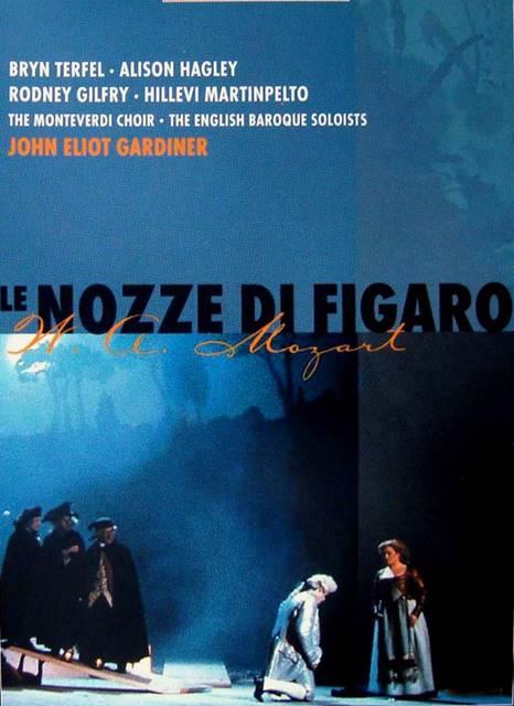 Las bodas de Fígaro en París con Terfel y Gardiner, desde el Teatro de Châtelet , vídeo de la ópera de Wolfgang Amadeus Mozart 1993 Bryn Terfel , John Eliot Gardiner