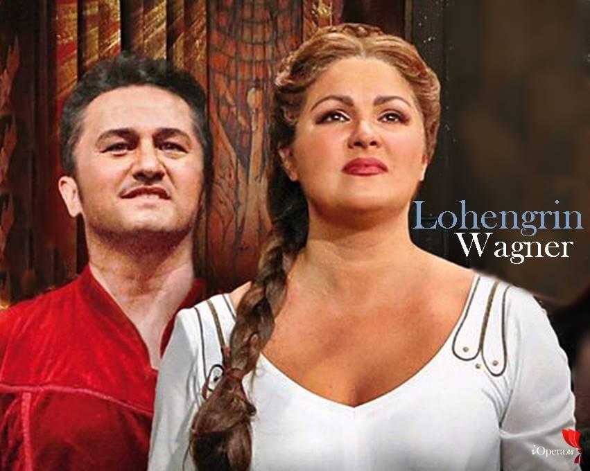 Semperoper-Dresden Lohengrin de Richard Wagner con Anna Netrebko y Piotr Beczala vídeo