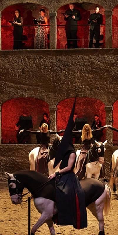 Réquiem de Mozart coreografiado por Bartabas vídeo WA
