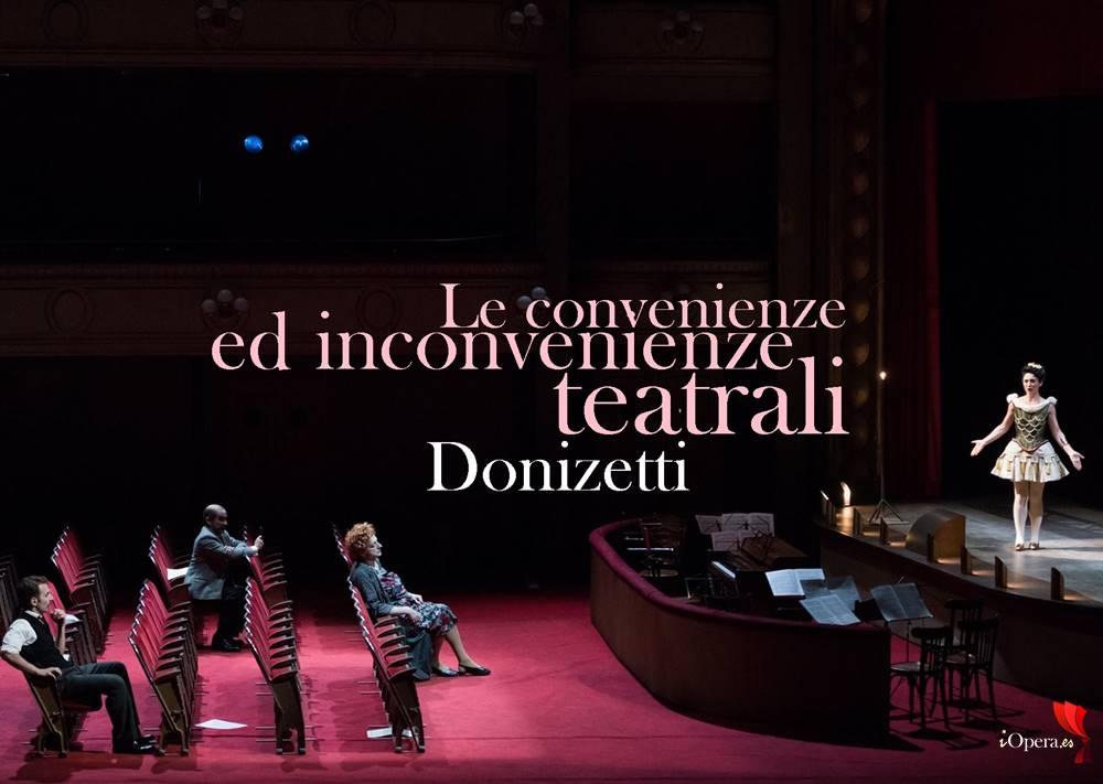 Viva la Mamma de Donizetti desde Lyon, vídeo de Le convenienze ed inconvenienze teatrali de Gaetano Donizetti, protagonizado por Patrizia Ciofi