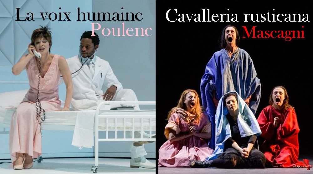 Anna Caterina Antonacci La voix humaine y Cavalleria rusticana en Bologna