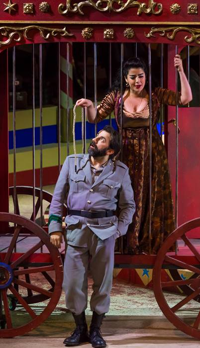 Carmen de Bizet en l'Opéra Royal de Wallonie