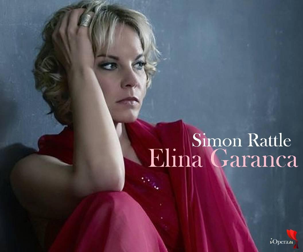 Simon Rattle y Elina Garanca en el Festival de Baden-Baden