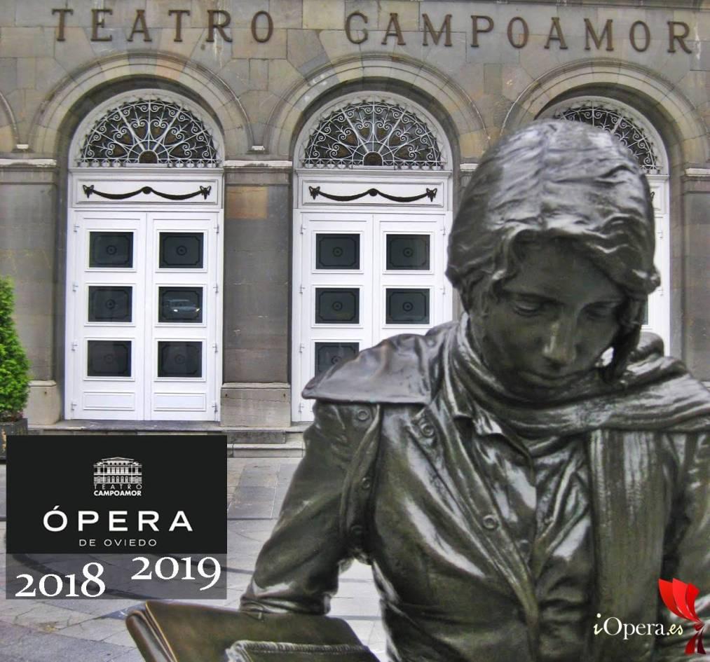 Ópera de Oviedo temporada 2018 2019