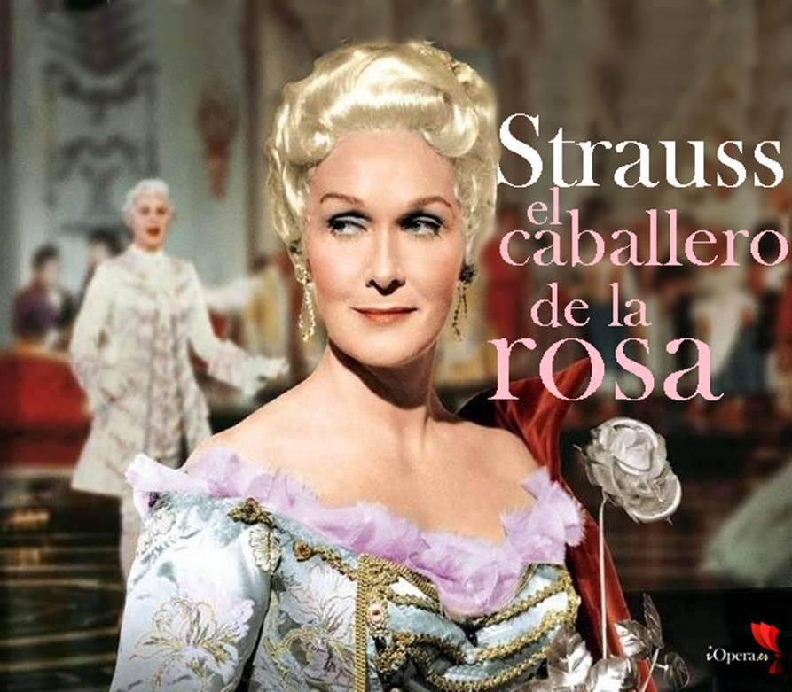 El Caballero de la Rosa desde Salzburgo con Karajan en 1960 Richard Strauss, protagonizada por Elisabeth Schwarzkopf bajo la dirección de Herbert von Karajan