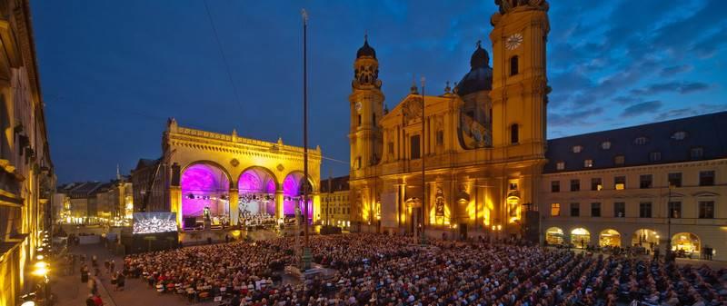 Concierto Diana Damrau en Munich Odeonsplatz
