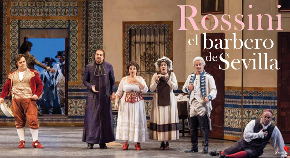 El barbero de Sevilla desde Turín Chiara Amarú vídeo Rossini ópera Torino