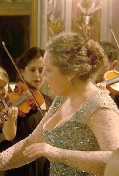 Carnaval 1729, un concierto en Venecia, desde el Palacio Zenobio, vídeo del concierto barroco, interpretado por la mezzosoprano Ann Hallenberg