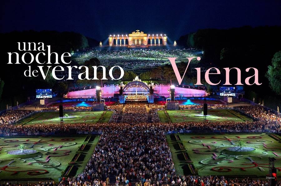 Concierto de una noche de verano en Viena