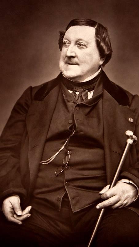 Gioachino Rossini biografía
