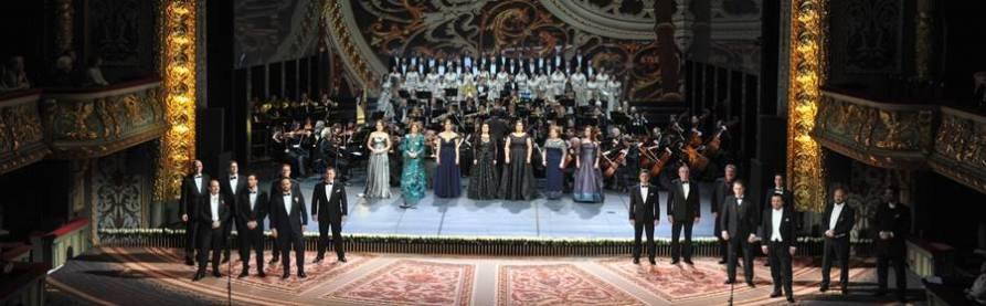 Gala 100º aniversario Ópera de Letonia concierto vídeo
