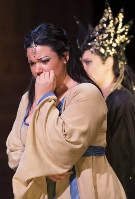 Aida de Verdi desde Lieja, desde la Opéra Royal de Wallonie-Liège, vídeo de la ópera, por protagonizada Elaine Álvarez, Marcello Giordani y Nino Surguladze
